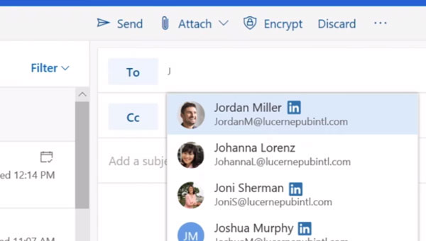 Integracja LinkedIn z Office 365